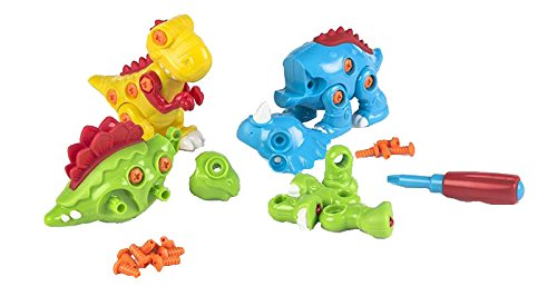 ColorBaby - Juego de construcción dinosaurio (44279)