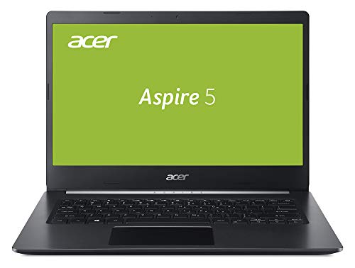 Acer Aspire 5 (A514-52G-7045) 35,6 cm (14 Zoll Full-HD IPS matt) Multimedia Laptop (Intel Core i7-10510U, 8 GB RAM, 1.000 GB PCIe SSD, NVIDIA GeForce MX250, Windows 10 Home) schwarz