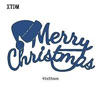 カッティングダイハットメタルクラフトペーパーダイカット/DIYエンボス加工、クリスマスと新年