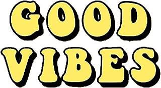 Good Vibes Tumblr, Aesthetic, Yellow Sticker Decal Window Bumper Sticker Vinyl 5
