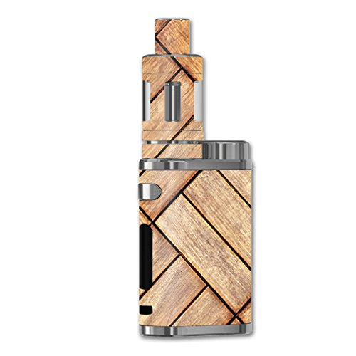 MightySkins Skin Compatible with Eleaf iStick Pico 75W TC – Parquet | Protective, Durable, and Unique Vinyl Decal wrap Cover | Easy to Apply, Remove, and Change Styles | Made in The USA