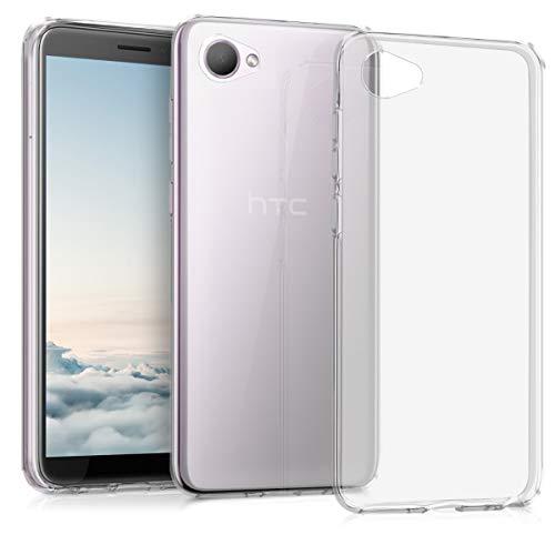 kwmobile Hülle kompatibel mit HTC Desire 12 - Handyhülle - Handy Case in Transparent