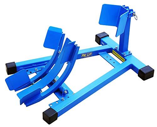 Pro-Lift-Werkzeuge Vorderrad-Wippe 680 kg Motorradwippe Rad-Klemme Montageständer 16