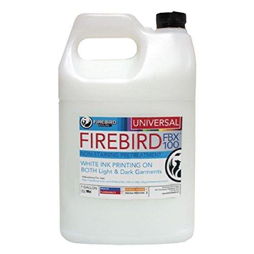DTG Pretreatment non-staining Direct To Garment Pretreat FIREBIRD Universal FBX 1 Gallon