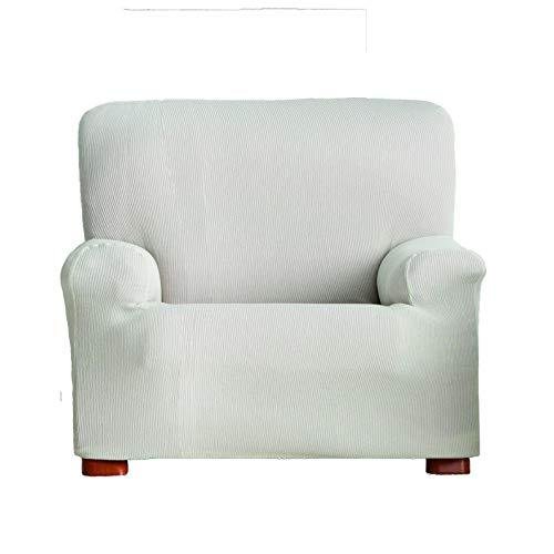 Eysa Ulises - Funda de sofá elástica, 1 Plaza, Color Crudo