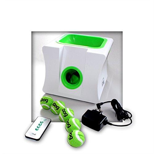 iDog Ballwurfmaschine automatischer Ballschießer Ballschleuder für kleine Hunde
