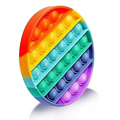 EUROXANTY Juguete sensorial Pop-it   Antiestrés   Juego Entretenimiento   Lavable   Motricidad Fina   12,5 cm de diámetro   Multicolor de EUROXANTY