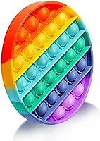 EUROXANTY Juguete sensorial Pop-it | Antiestrés | Juego Entretenimiento | Lavable | Motricidad Fina | 12,5 cm de diámetro