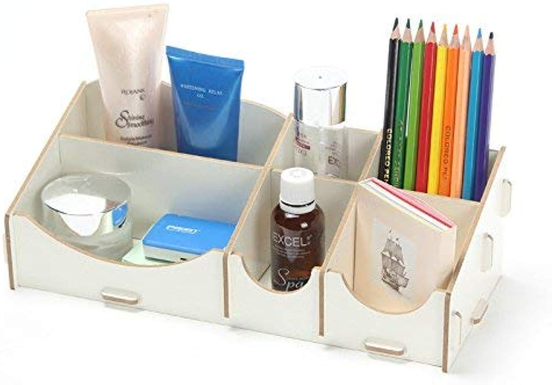 SunnyGod Einzigartige praktische Aufbewahrungsbox Aufbewahrungsbox Aufbewahrungsbox Schmuckschatulle kreative Holz aufbewahrungsbox schmuckschatulle holzkosmetik aufbewahrungsbox (Farbe  weiß) für Badezimmer, Schlafzimmer, Wohnzimmer B07P53T58T c3a2da