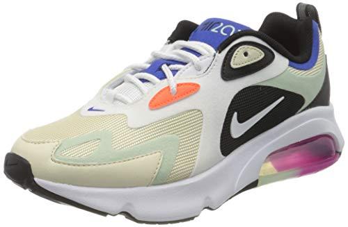 Nike Air MAX 200, Zapatillas de Gimnasio Mujer, Fossil Black Pistachio Frost...