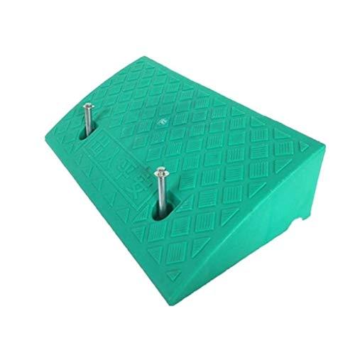 Hoge Kwaliteit 13CM Anti-lip Stap Pad, Gekleurde Plastic Rolstoel Uphill Pad Gemak Winkel Kerb Ramps Thuis Caravan Laden Ramps Praktisch 50 * 27 * 13CM Groen