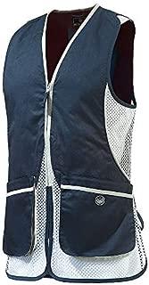 Beretta Womens Silver Pigeon Shooting Vest, Navy Blue, XL