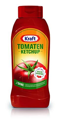 Kraft Tomaten Ketchup, Kopfsteherflasche, 8er Pack (8 x 860 ml)