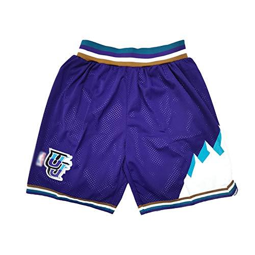 DWQ Jersey de Baloncesto de Las Mujeres para Hombres, Jazz 10 Conley Polyester Refrescable Transpirable Pulsado de Baloncesto, Chaleco sin Mangas (S-2XL) Purple-M