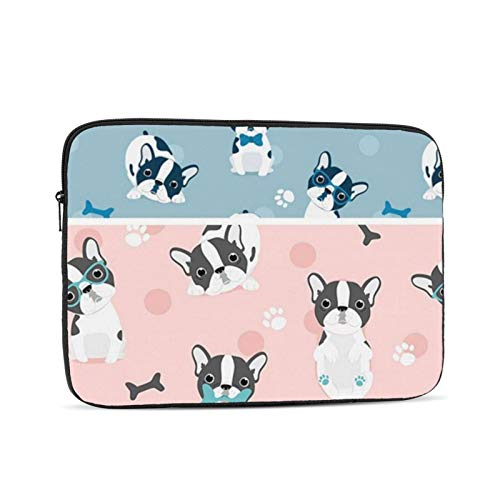 Frenchie Protective Laptop Case,Laptop Case Bag for 10 Inch, 12 Inch, 13 Inch, 15 Inch, 17 Inch