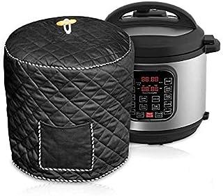 Elektrische Snelkookpan Cover Waterdichte Rijstkoker Cover Stofkap Voor Instant Pot Met Zak Kleine Keukenapparatuur Zwart