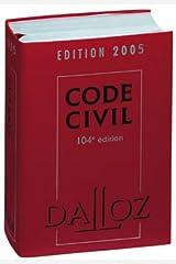 Code civil 2005 Relié