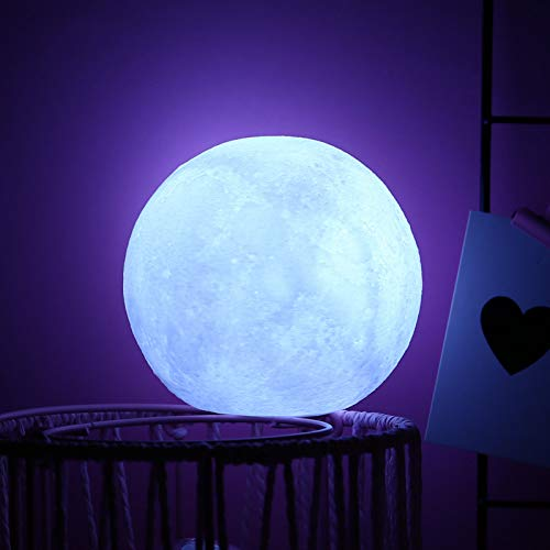 XHSHLID Siliconen witte maan vorm decoratieve lichten kinderkamer lay-out maan nachtlampje