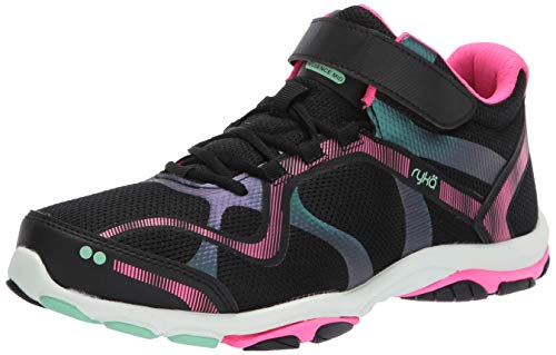RYKA Women's Influence Mid Training Shoe, Black, 10