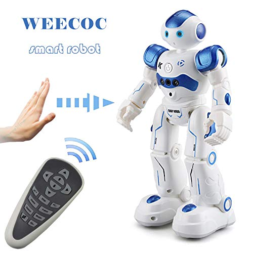 WEECOC Smart Robot Toys Gesture Control Remote Control Robot Kids Toys Birthday Can Singing Dancing...