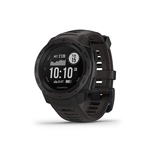 Garmin 010-N2064-00 Instinct, Rugged Outdoor Watch with GPS,...
