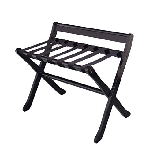 Purchase Yuyandejia Luggage Rack Solid Wood Foldable Landing Shelf Bedroom, Room Storage Rack Clothe...