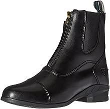 Ariat Women's Heritage IV Zip Paddock Boot, Black, 9 B US