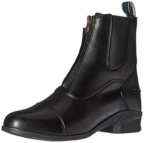 ARIAT womens English Paddock Boot, Black, 7.5 US