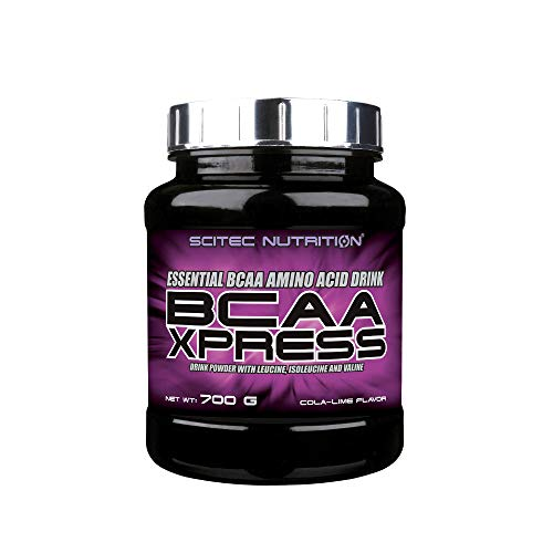 Scitec Nutrition BCAA Xpress, Essential BCAA Amino Acid Drink Powder with Leucine, Isoleucine and Valine, 700 g, Cola-Lime