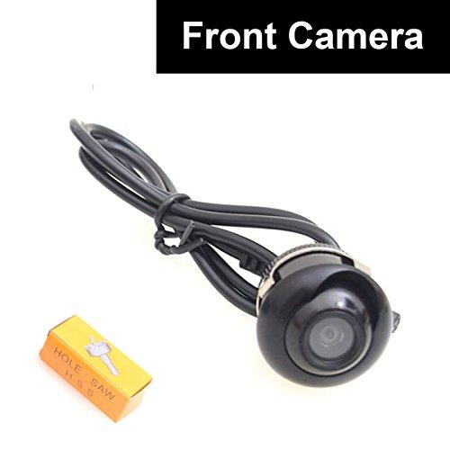 Auto Vordere Ansicht Kamera Vorwärtsnocken Schrauben Stoßdämpfer-Einfassung Universal passendes nicht Spiegelbild ohne Gitterlinien