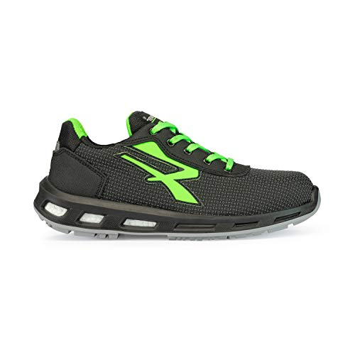 U POWER Strong S3 SRC - Scarpe Antinfortunistiche Unisex Adulto, Verde (Vert 000), 45 EU