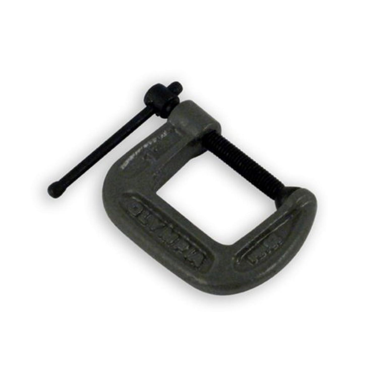 銀行重々しいレコーダーOlympia Tools 38-110 1-Inch by 1-Inch C-Clamp [並行輸入品]