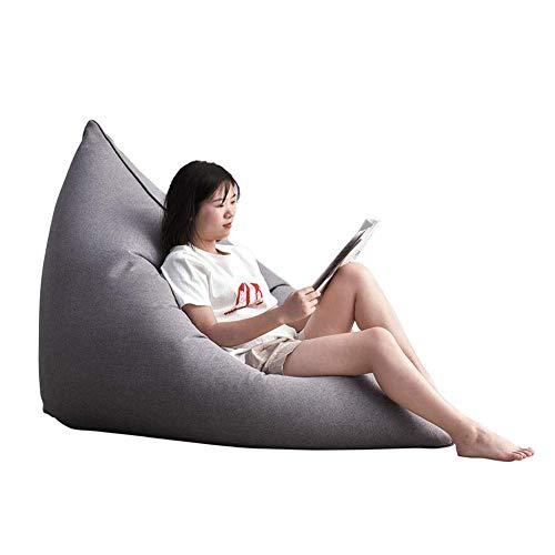 QTQZDD zitzak, vloerkussen, stoel, verstelbare slaapbank, meerdere mogelijkheden voor lounge, gaming stoelen, zitzak, kruk, kleur: T5, afmetingen: 140 x 110 cm 5 5