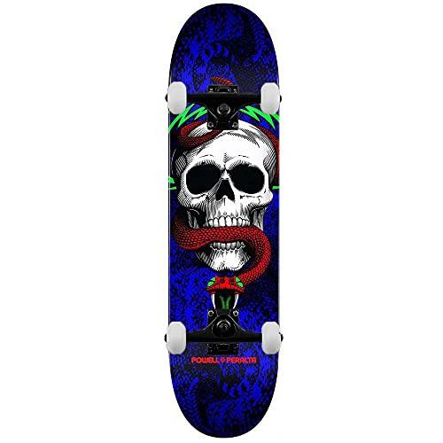 Powell Peralta PP Skull & Snake One Off 291 K20 - Skateboard completo Royal 19,7 cm