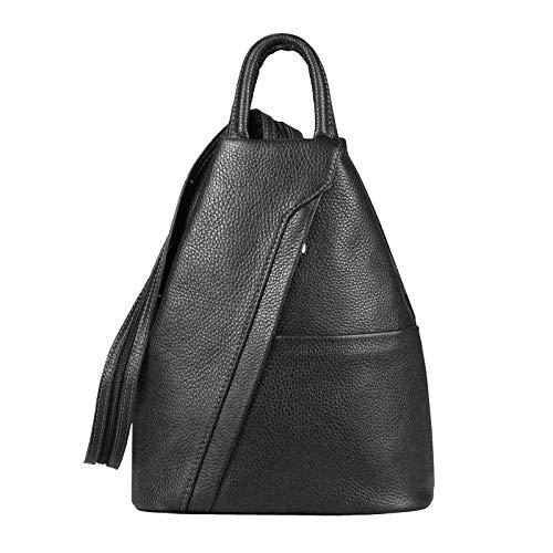 OBC Only-Beautiful-Couture, Borsa a zainetto donna Nero Schwarz V1 ca. 25x30x11 cm (BxHxT)
