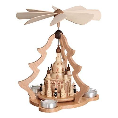 Zeidler Teelichtpyramide Dresdener Frauenkirche 27 cm 0526