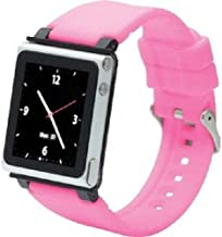 iWatchz CLRCHR22PIK Q Collection Wrist Strap for iPod Nano 6G, Pink