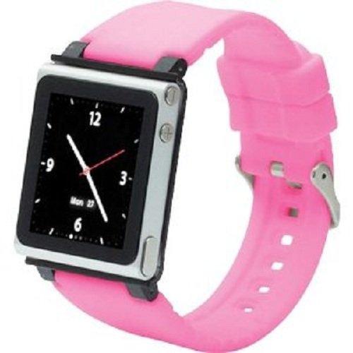 iWatchz Q Collection Armband für Apple iPod Nano 6 pink