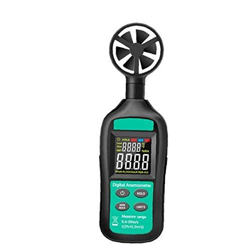 LHY Herramienta GN-301 Anemómetro Digital Medidor de Velocidad del Viento Anemómetro Air Volumen Medidor Alto Precision Airflow Windmeter medición