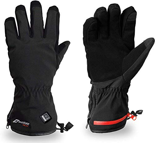 Gerbing Venture Waterproof Hunting Heated Gloves for Skiing and Snowmobile