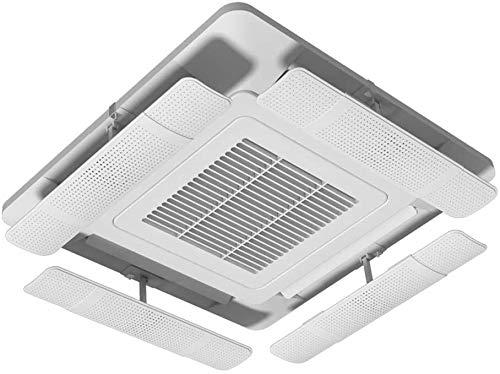 Durable Acondicionador de aire Deflector - telescópica Aire acondicionado central Salida de aire deflector es fácil de instalar, ángulo ajustable, conveniente for el hogar de aire acondicionado de tec