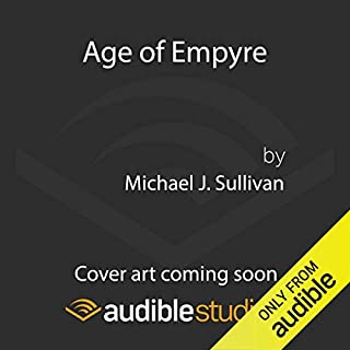 Age of Empyre audiobook cover art