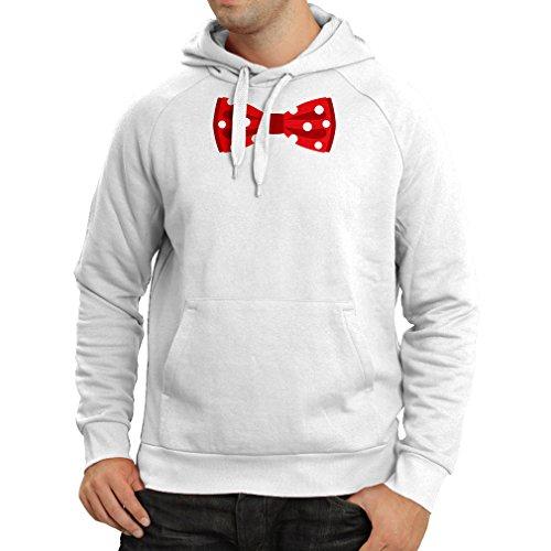 Lepni.me N4551H Sweatshirt à Capuche Manches Longues Look Like a Boss (Large Blanc Multicolore)