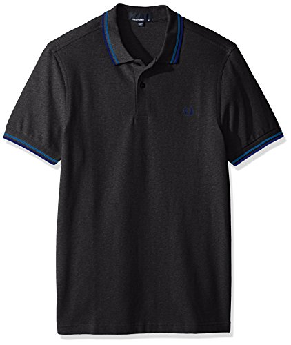 Fred Perry M3600, Polo Para Hombre, Graphite Marl/Aster/Regal, M