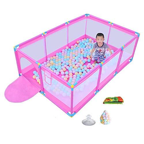 LXDDP Parc pour bébé Pliable avec balles Jouer sur Le Parc pour bébé Playard Go Playard Centre d'activité Centre puériculture pour bébé à l'intérieur (Taille: sans boîte Panier)