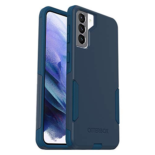 OtterBox COMMUTER SERIES Case for Galaxy S21+ 5G - BESPOKE WAY (BLAZER BLUE/STORMY SEAS BLUE)