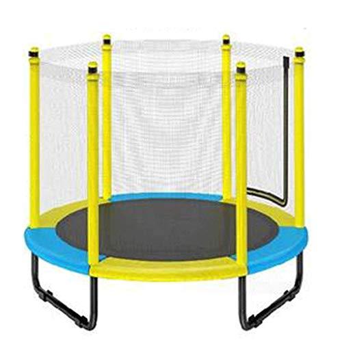 XYXH Trampolin Kinder Mit Netz, Trampolin Outdoor Inkl. Sprungmatte, Sicherheitsnetz, Gartentrampolin-Jump Mit Reißverschluss, Für Jumping Fitness