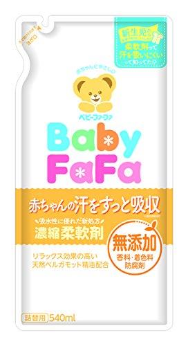 ファーファ ジャパン ベビーファーファ 濃縮柔軟剤 詰替用 540mL
