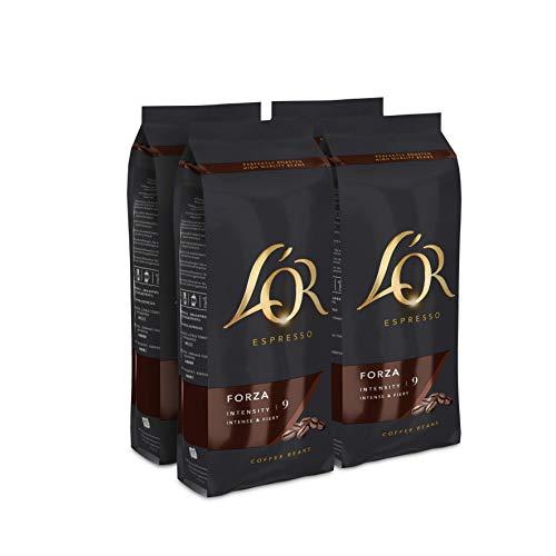 L'OR Café Grano Forza – 4 paquetes de 500gr (2000gr)