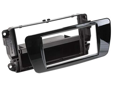 Facade autoradio FA2806E compatible avec Seat Ibiza Noir brillant